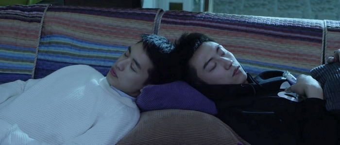 Bai Luo Yin and Gu Hai sleeping together in the last episode. Thanks to the series cancellation, you'll never see them together again.
