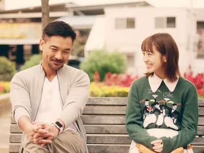 Kohei comes out to his daughter during one of the best scenes in the Athlete movie.