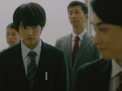 Adachi is painfully shy and doesn't think he is good enough compared to Kurosawa.