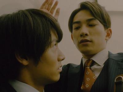 In the elevator, Adachi discovers that Kurosawa has a secret crush on him.