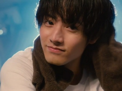 Kurosawa fantasizes Adachi using a towel.