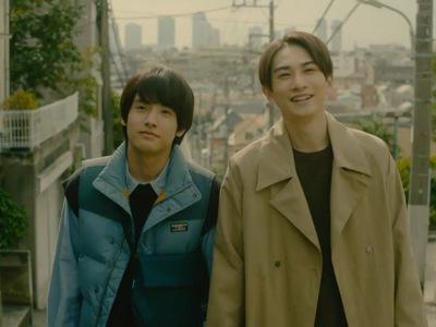 Adachi and Kurosawa begin dating midway through the series.
