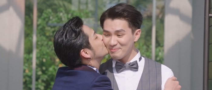 I like that Soda and Noah got married. Go, gay marriage!
