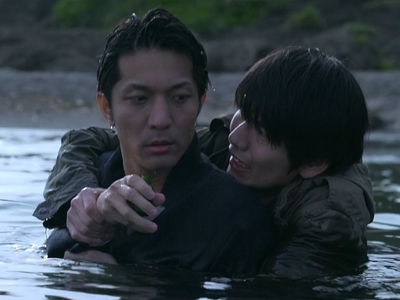 Katsuragi saves Yoda from killing himself in the ending of Dangerous Drugs of Sex.
