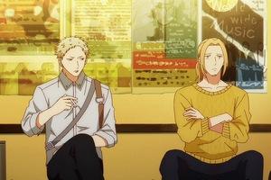 Akihiko and Haruki had more scenes in the Given anime.