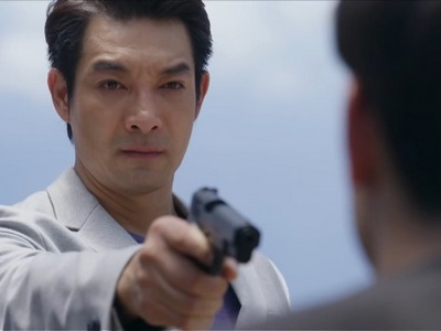 Sky's father opposes the relationship between his son and his bodyguard.