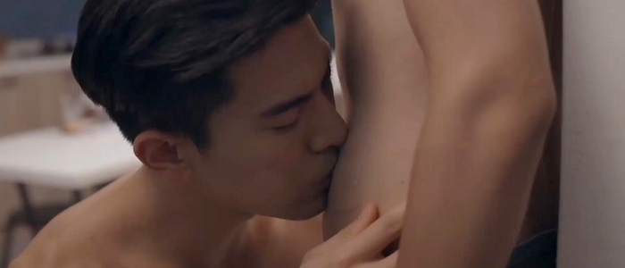 The physical intimacy in HIStory 3: Trapped goes further than most BL dramas.