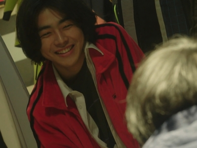 Nagisa seems happier and more relaxed when he's alone with Shun.
