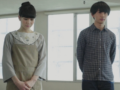 Ako starts to realize Shun isn't interested in her during their acting class in Episode 4.