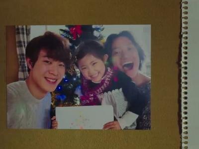 Sora is happy while living with Shun and Nagisa.