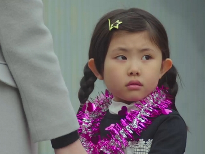 The child actor playing Sora is really good!