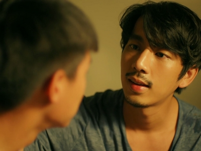 Teh comes out to his brother in an emotional scene in Episode 5 of I Told Sunset About You.