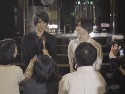 There's a happy ending in Love Stage where Ryoma and Izumi admit their feelings for each other in public.