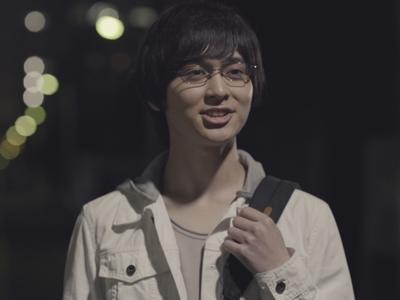 Izumi is a lovable otaku in the Love Stage movie.