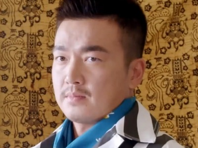 A-Bu is portrayed by the Taiwanese actor A-Bu Patrick Lee (�沛旭).