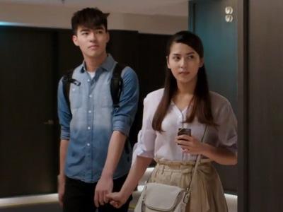 Xi Jia takes her boyfriend to a hotel room, believing Hua Hua is actually Xiao Chi.