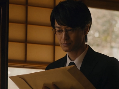 Kijima has a quiet dignity to his character.