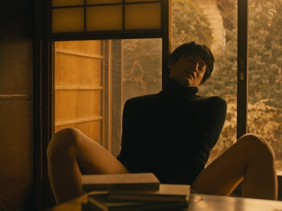 Kijima learns to pleasure himself in Gamoda's house.