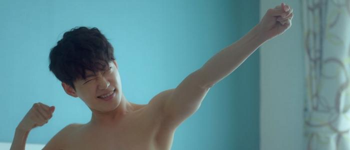 Sang Ha is a super charismatic character.