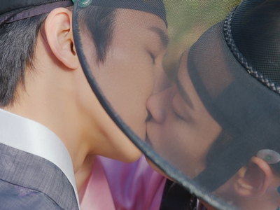 Ho Seon and Ki Wan kissed once in Episode 8 of Nobleman Ryu's Wedding.