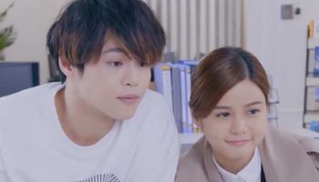 In Ossan's Love Hong Kong, the engaged couple is an artist and an office worker.