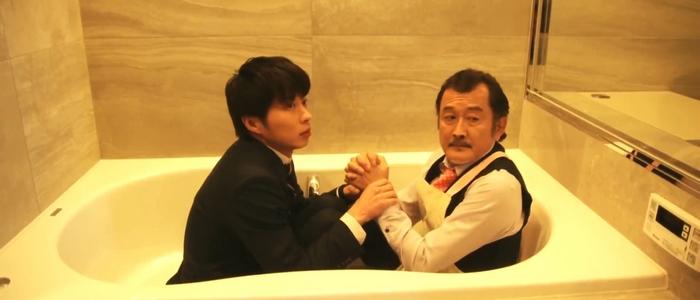 Haruta and Kurosawa together in a bathtub, because why not?