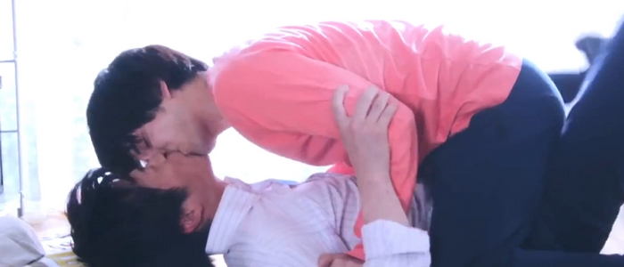 Ossan's Love ends as it begins, with another kiss between Haruta and Maki.