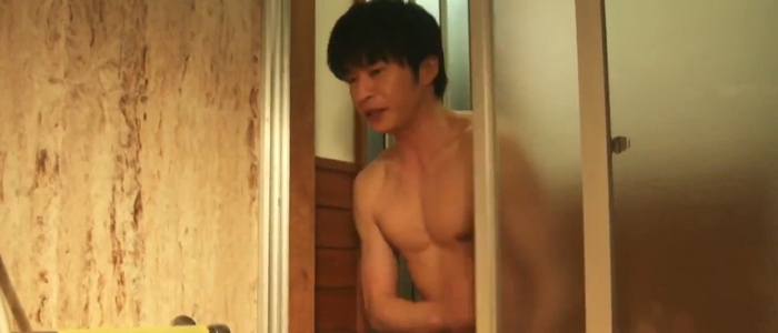 Haruta's character gets shirtless in a few scenes.