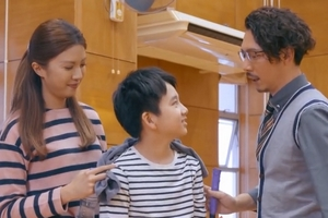 In Ossan's Love Hong Kong, the ex-boyfriend is a divorced dad with a son.