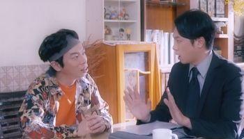 Ping is an aspiring comedian in Ossan's Love Hong Kong.