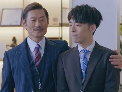 KK is an older boss fond of his younger employee Tin.
