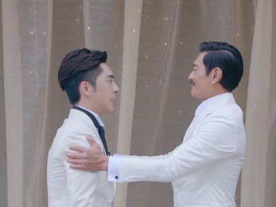 Tin is nervous on his wedding day with KK.
