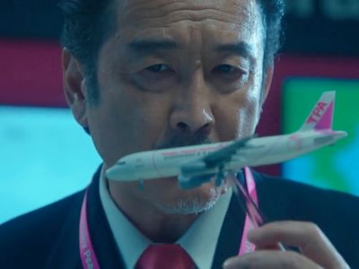 Kurosawa plays a senior pilot in Ossan's Love: In the Sky.