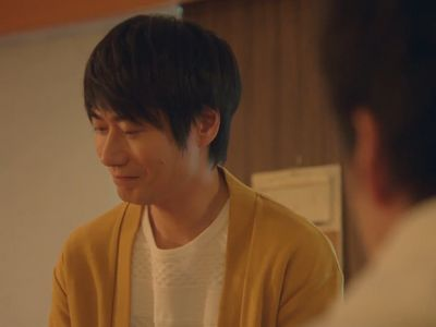 Shino is rejected by Haruta at the end of Ossan's Love In the Sky Episode 6.