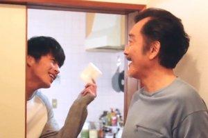 After Haruta and Maki break up, Kurosawa looks after Haruta in Ossan's Love Japan.