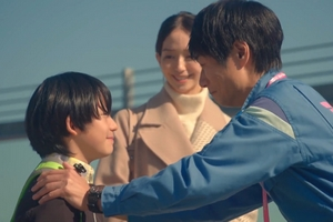 Ossan's Love: In the Sky also has a single dad character with a son.