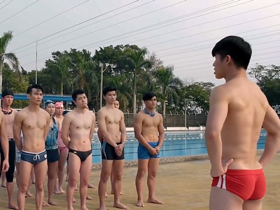 Red Balloon has a swimming pool scene in Episode 5.