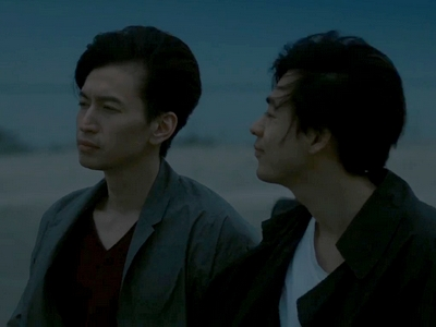 Kyoichi and Imagase watch the sunrise together after they break up.