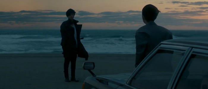 Kyouichi and Imagase beach flashback