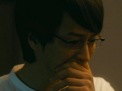 In the last episode, Kijima becomes more vulnerable and has to hold back his tears.