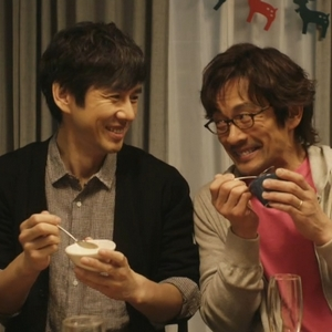 Shiro and Kenji love to cook and eat together.