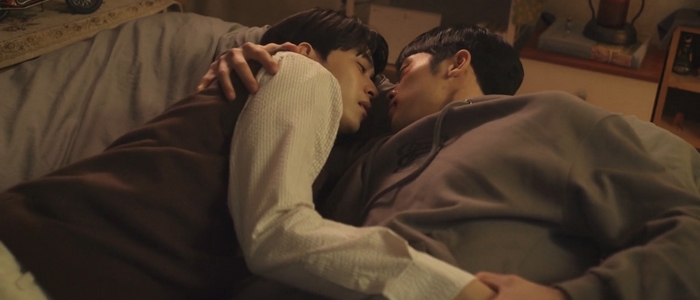 Tae Joo and Kang Gook were physically intimate, but not physically affectionate.