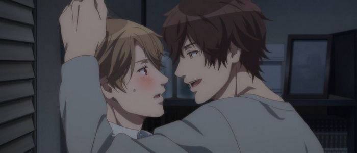 Yes, No, or Maybe Half is a BL anime movie that aired in 2020.