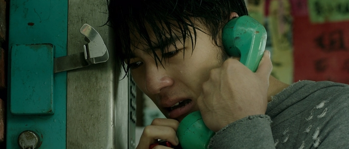 Jia-han cries into the phone receiver as he share one last phone call with Birdy.